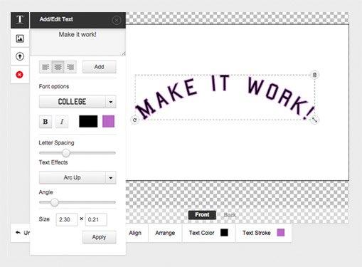 Make Custom Shapes Designs With Online Designer Tool